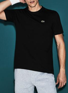 Camiseta Lacoste TH7618 Negra