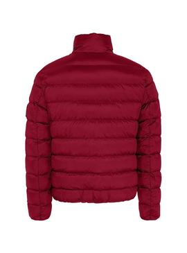 Cazadora Tommy Jeans Essential Down Rojo Hombre