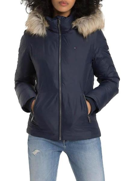 Chaqueta Tommy Jeans Hooded Marino