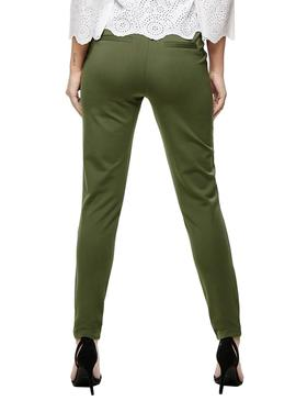 Pantalones Only Poptrash Easy Verde Para Mujer