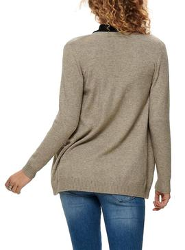 Chaqueta Only Lesly Beige Para Mujer