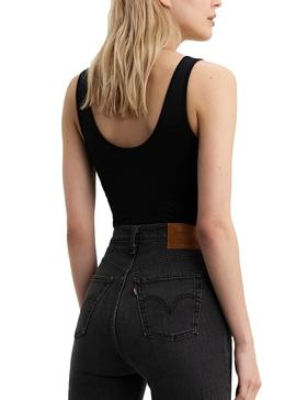 Body Levis Graphic Logo Negro Para Mujer