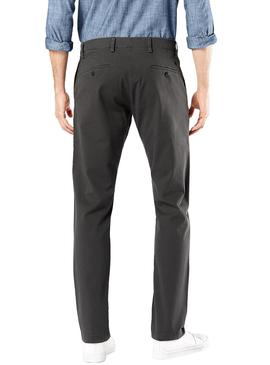 Pantalon Dockers Smart 360 Chino Taper Gris Hombre