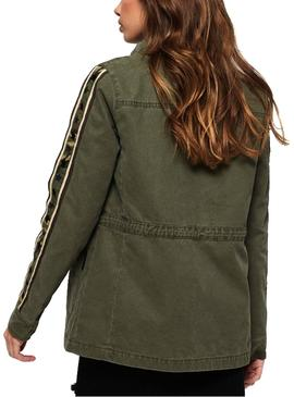 Chaqueta Superdry Rookie Star Verde