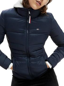 Cazadora Tommy Jeans Modern Marino Para Mujer