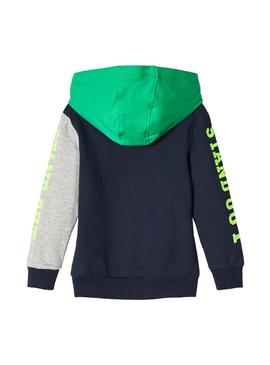 Sudadera Name It Tollo Azul Niño