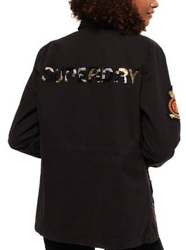 Chaqueta Superdry New Army Negro