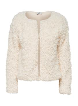 Chaqueta Only Fione Beige para Mujer