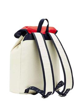 Mochila Tommy Jeans Heritage Beige Hombre y Mujer