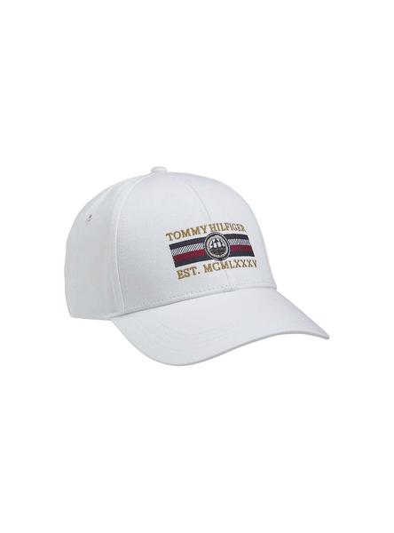 Gorro Tommy Hilfiger Seasonal Icon Blanco Hombre
