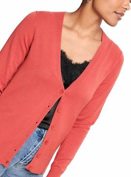 Chaqueta Only Venice Coral Mujer