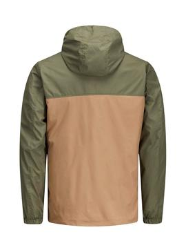 Cazadora Jack and Jones Jorcott Camel Hombre