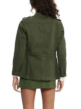 Parka Only Sika Verde para Mujer