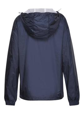 Cazadora Tommy Jeans Recycled Azul Mujer