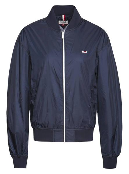 Bomber Tommy Jeans Recycled Azul Mujer