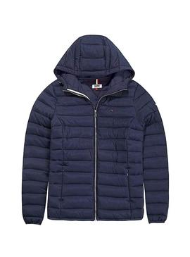 Cazadora Tommy Jeans Acolchada Basic Hooded Mujer