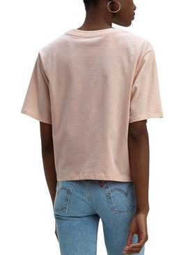 Camiseta Levis Parker Rosa Mujer