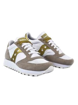 Zapatillas Saucony Jazz Original Vintage WHT GOLD