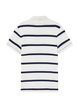 Polo Hackett Rugby Stripes para Hombre