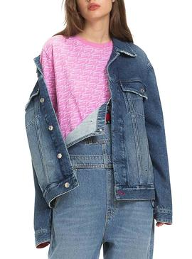 Cazadora Vaquera Tommy Jeans Oversize SYDNM Mujer