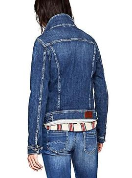 Cazadora Pepe Jeans Thrift CF7 Denim Mujer