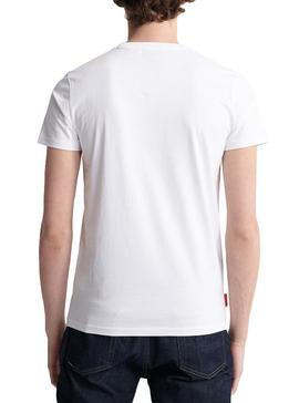 Camiseta Superdry Collective Blanco Para Hombre