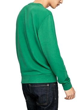 Sudadera Pepe Jeans George Verde Hombre