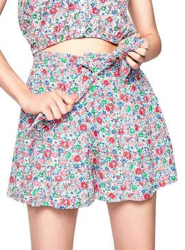 Short Pepe Jeans Paulina Floral Mujer