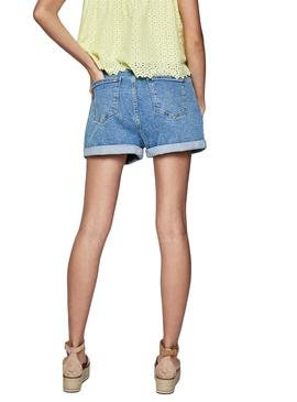 Shorts Pepe Jeans Bazile Denim Mujer