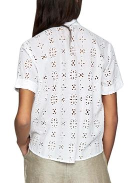 Camisa Pepe Jeans Coco Blanco Mujer