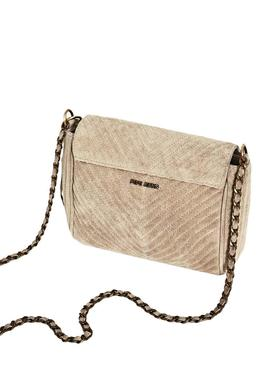 Bolso Pepe Jeans Polonia Beige para Mujer
