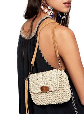 Bolso Pepe Jeans Lisa Beige para Mujer