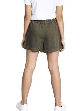 Shorts Name It Feefee Verde para Niña