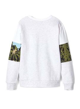 Sudadera Name It Florida Blanco para Niño