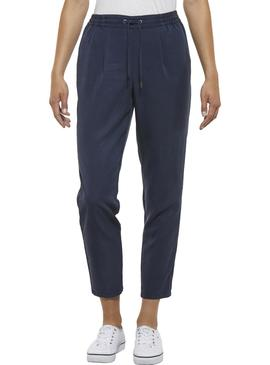 Jogger Tommy Jeans Regular Azul Mujer