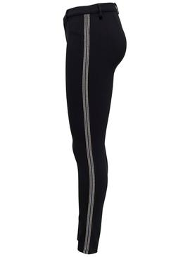 Pantalón Only Evie Glitter Sport Negro Mujer