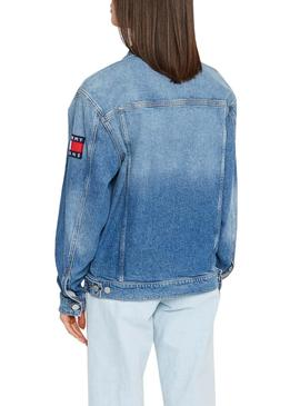 Cazadora Vaquera Tommy Jeans Oversize ANMB Mujer
