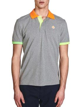 Polo North Sails Block Gris para Hombre
