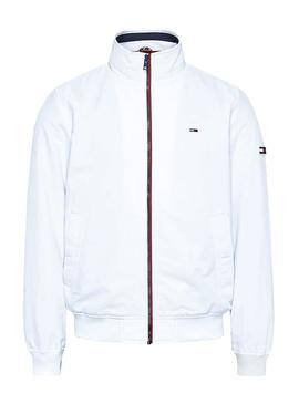 Cazadora Tommy Jeans Essential Bomber Blanco