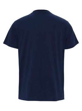 Camiseta Tommy Jeans Arched Azul para Hombre