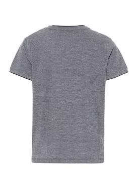 Camiseta Name It Hunas Gris Niño