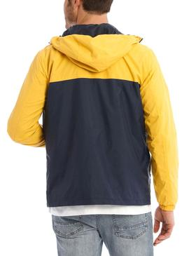 Cazadora Jack and Jones Cott Amarillo para Hombre