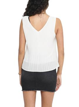 Top Only Lirena Blanco para Mujer