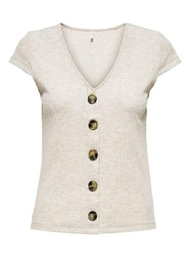 Top Only Nella Blanco para Mujer