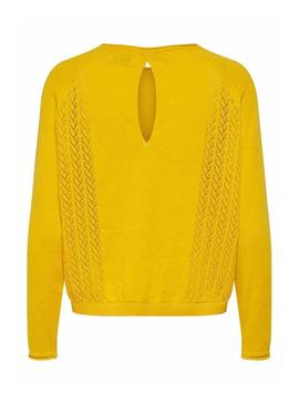 Jersey Only Eden Amarillo para Mujer