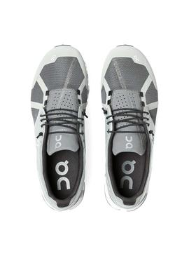 Zapatillas ON Running Cloud Gris Para Hombre