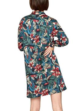 Vestido Pepe Jeans Luciana Tropical Mujer