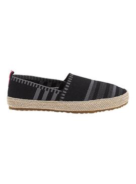 Alpargatas Tommy Hilfiger Knitted Negro Hombre