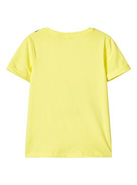 Camiseta Name It Fakko Amarillo para Niño