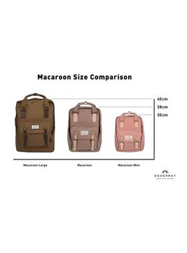 Mochila Doughnut Macaroon 14 Taupe Hombre y Mujer